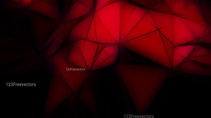 Cool Red Fractal Wallpaper Image