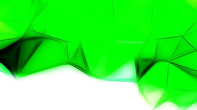 Green and White Fractal Wallpaper