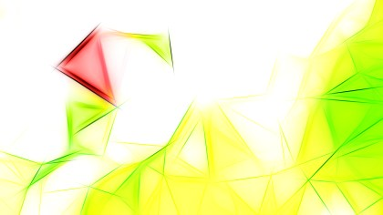 Green Yellow and White Fractal Wallpaper Graphic
