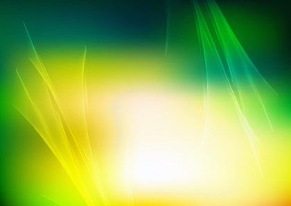 Abstract Green Yellow and White Fractal Wallpaper