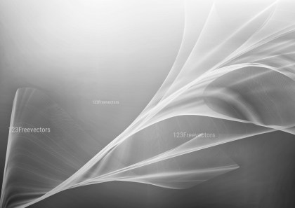 Abstract Grey Fractal Wallpaper