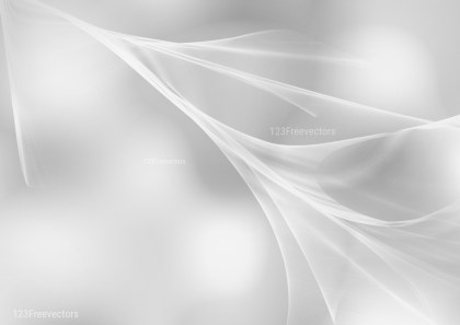 Abstract Light Grey Fractal Background Design