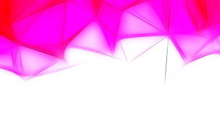 Pink and White Fractal Wallpaper