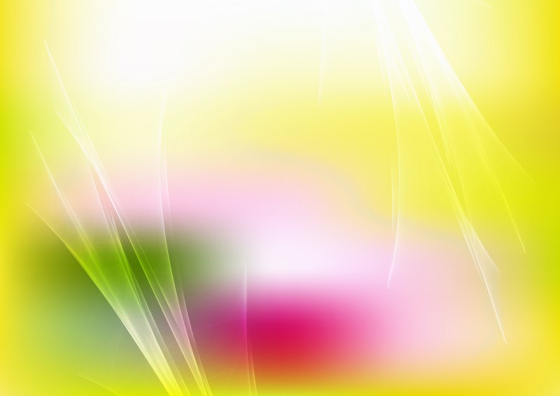 Pink Green and Yellow Fractal Background