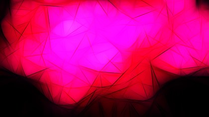 Abstract Pink Red and Black Fractal Background