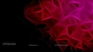 Pink Red and Black Fractal Background Design