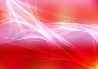 Pink Red and White Fractal Wallpaper
