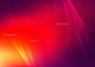 Abstract Pink Red and Yellow Fractal Light Lines Background