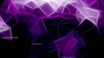 Purple Black and White Fractal Wallpaper Image