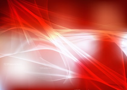 Abstract Red and White Fractal Background Illustration