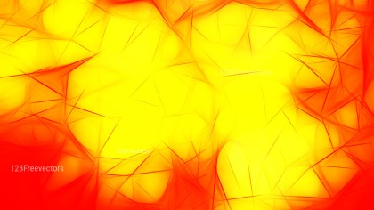 Red and Yellow Fractal Background
