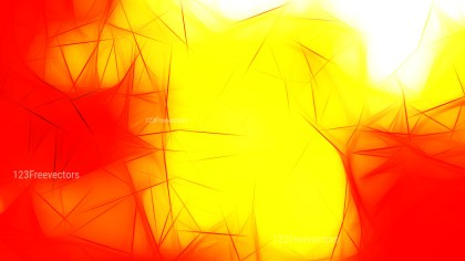 Red and Yellow Fractal Wallpaper