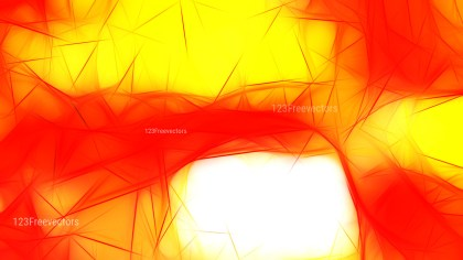 Red and Yellow Fractal Background Design