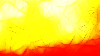 Abstract Red and Yellow Fractal Wallpaper Image