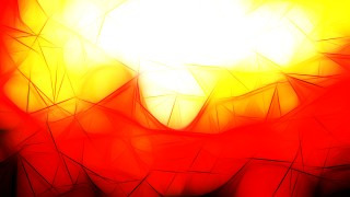 Red White and Yellow Fractal Background