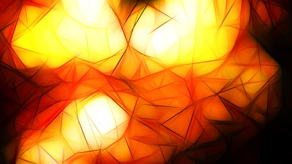Abstract Red White and Yellow Fractal Wallpaper