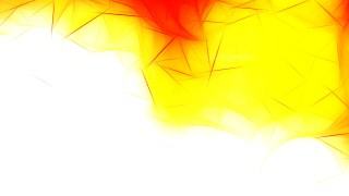 Red White and Yellow Fractal Wallpaper