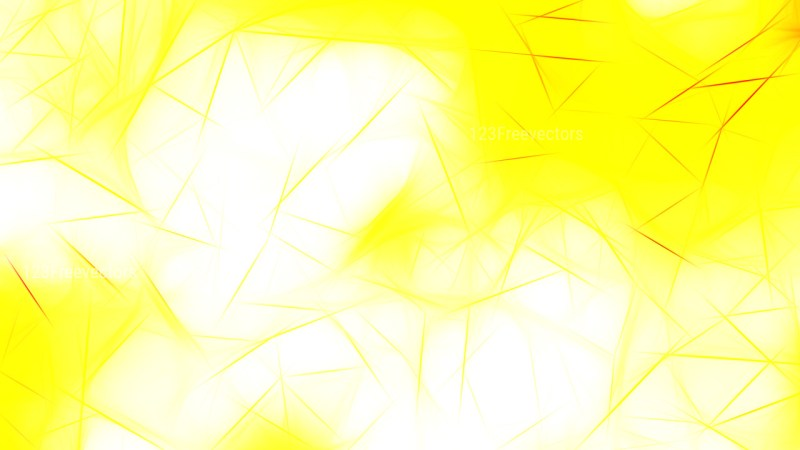 Yellow and White Fractal Background