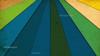 Blue Green and Orange Grunge Halftone Dots Pattern Image