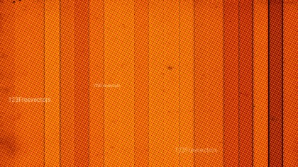 Bright Orange Halftone Texture