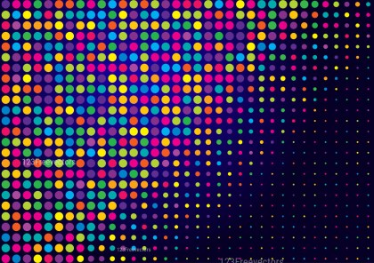 Abstract Colorful Dot Background Graphic