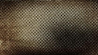 Dark Brown Halftone Texture Image