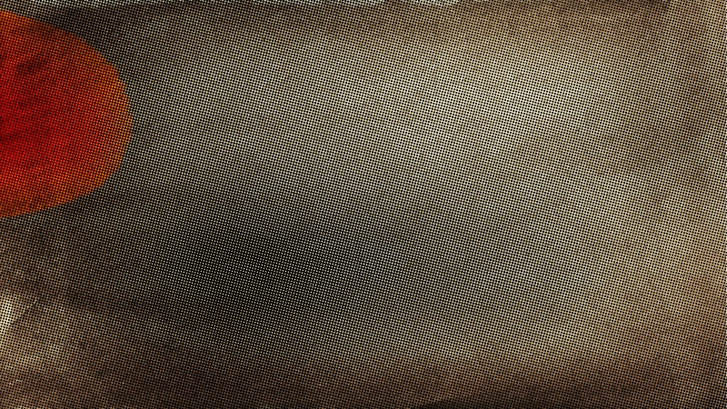 Dark Brown Distressed Halftone Texture