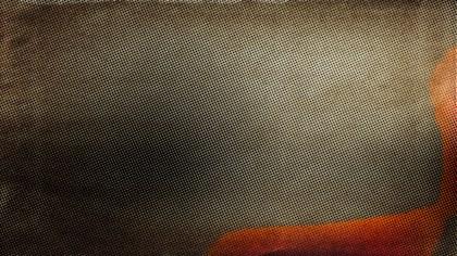 Dark Brown Distressed Halftone Pattern Texture