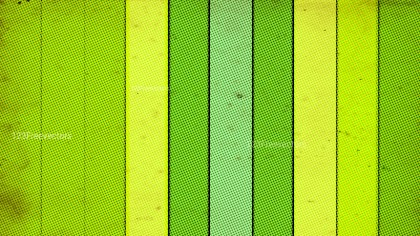 Green and Yellow Grunge Halftone Pattern Texture