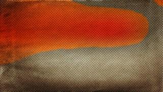 Orange and Brown Grunge Halftone Pattern Texture Graphic