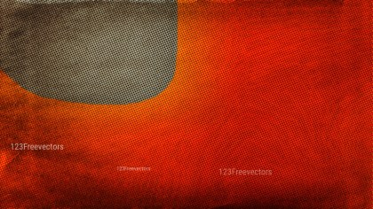 Orange and Brown Grunge Halftone Pattern Texture Image