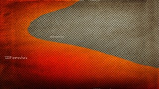 Orange and Brown Grunge Halftone Background Design