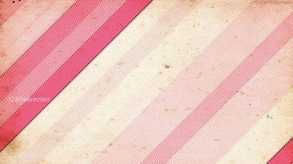 Pink and Beige Grunge Halftone Dots Background