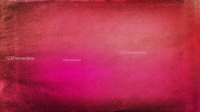 Pink and Brown Grunge Halftone Background