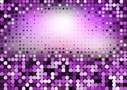 Abstract Purple Black and White Dotted Background Vector Image
