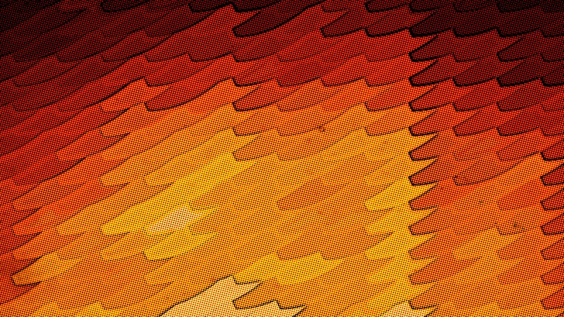 Red and Orange Distressed Halftone Dots Texture