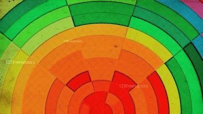 Red Green and Orange Grunge Dots Pattern Texture Design