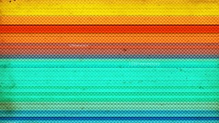 Red Orange and Blue Halftone Texture Graphic