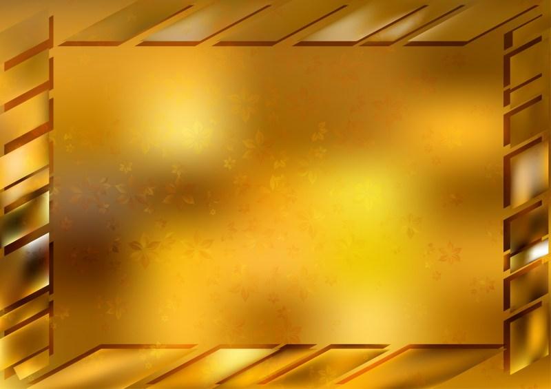 Gold Frame Background Image