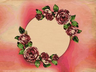Floral Greeting Card Background Image