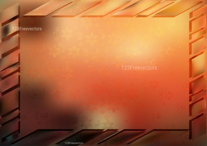 Red Brown and Black Frame Background Vector Image