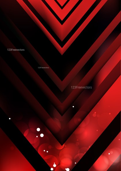 Abstract Cool Red Arrow Background