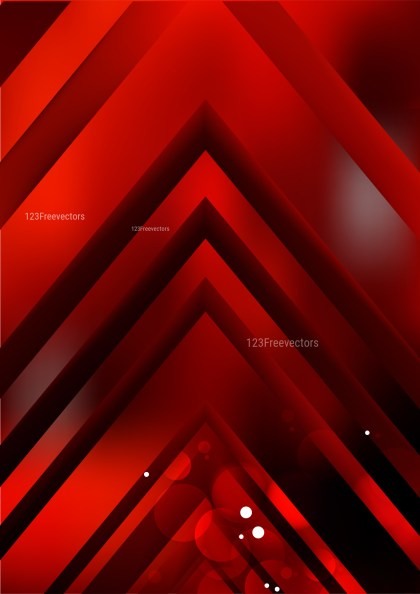 Abstract Cool Red Arrow Background Graphic