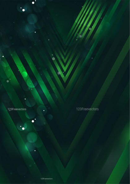 Abstract Green and Black Arrow Background Image