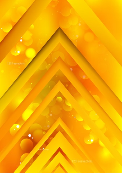 Abstract Orange Arrow Background