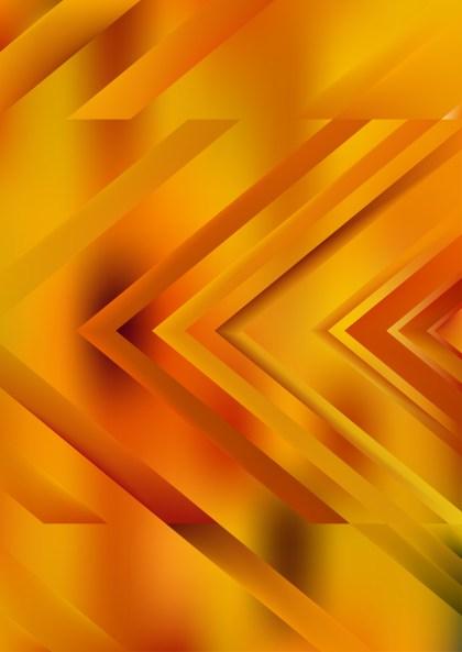 Abstract Orange Arrow Background