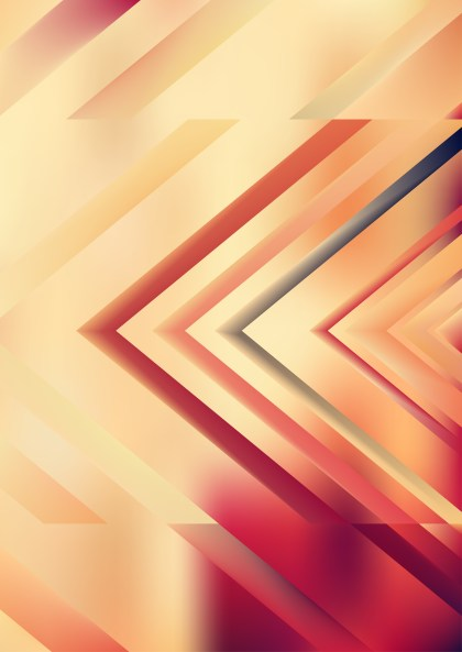 Abstract Pink and Brown Arrow Background Vector Illustration