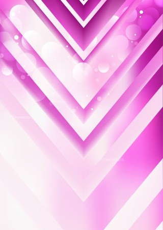 Abstract Pink and White Arrow Background