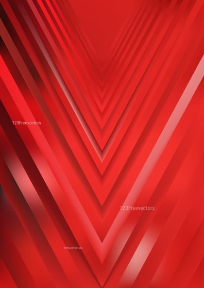 Abstract Red Arrow Background Vector Art