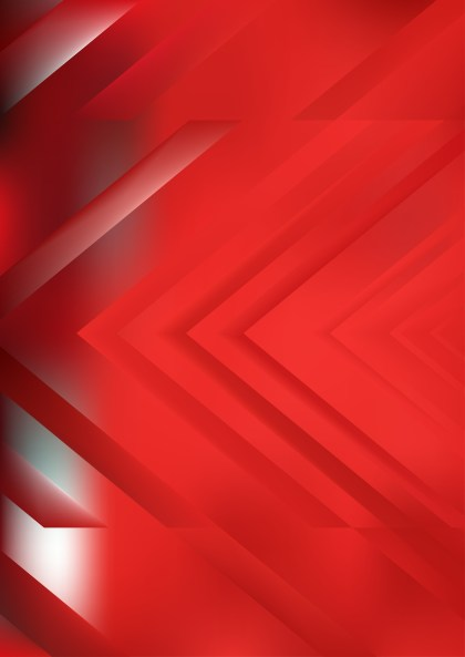 Abstract Red Arrow Background